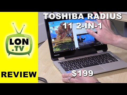 , title : 'Toshiba Satellite Radius 11 2-in-1 Windows Laptop Review -  L10W-CBT2N01'