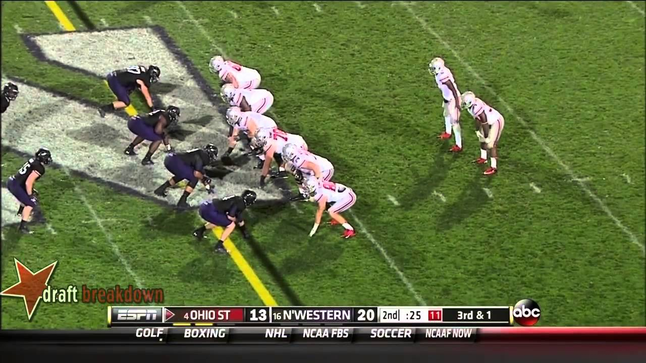 Carlos Hyde vs Northwestern (2013)