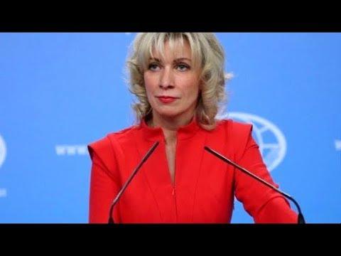 Еженедельный брифинг Марии Захаровой от 15.08.18. Полное видео