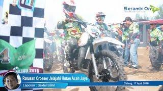 Ratusan Crosser Jelajahi Hutan Aceh Jaya