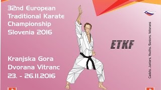 SZTK - 32nd European Traditional Karate Championship