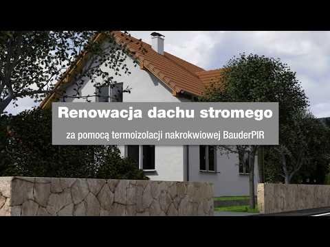 Renowacja dachu stromego Bauder