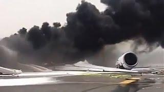 What caused Emirates flight 521 to crash?