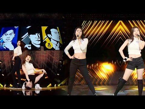 Lee Sumin & Go Ara|이수민·고아라 연습생 출신들의 무대 'Bang Bang' 《KPOP STAR 6》 K팝스타6 EP16 (видео)