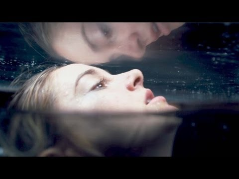 """DIVERGENT Movie Clip # 2 """"Drowning"""""""