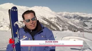 Ski paradise Resia Pass