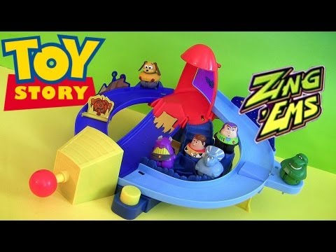 toys - Toy Story Zing-ems Rocket Rumble Playset. 