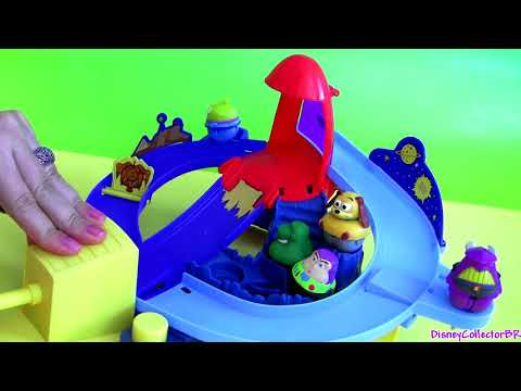 Zing Ems Rocket Rumble Playset Toy Story 3 Buzz Woody Jessie toys review Disneycollectorbr