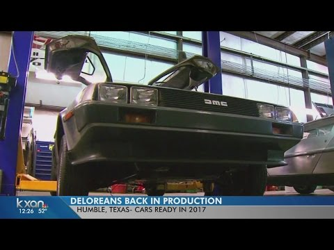 The DeLorean is coming back to...well, you know!