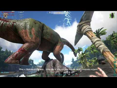 ARK: Survival Of The Fittest - Đi tìm sữa Khủng long T-Rex =))