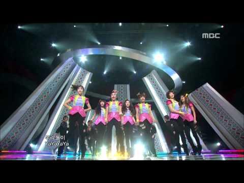 T-ARA : Yayaya – 티아라, 야야야, 쇼! 음악중심, 2010/12/11 – MBC
