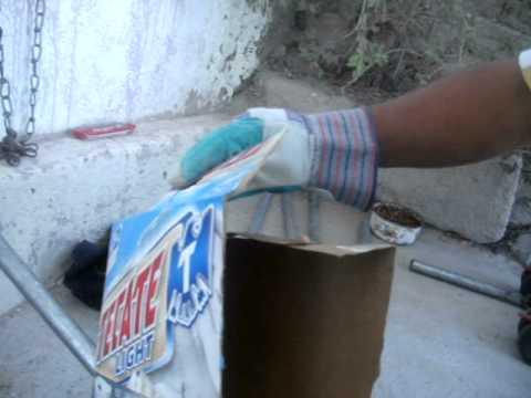 maquina de soldar casera - como hacer una soldadora mexicana con sal y agua por j & l co.
