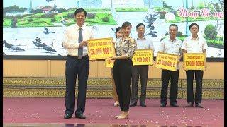 Quỹ bảo trợ trẻ em thành phố Uông Bí tiếp nhận hơn 400 triệu đồng trong Lễ phát động Tháng hành động Vì trẻ em năm 2019