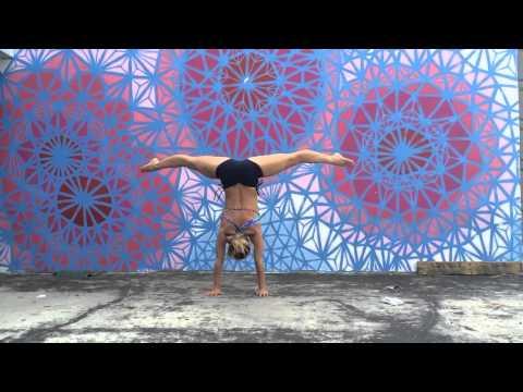 Wynwood Art Yoga: Handstand Press video