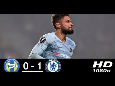 Bate Borisov - Chelsea 0-1 Highlights & Goals - HD