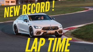 Mercedes-AMG GT 63 S 4 door : awesome lap time at Magny-Cours by Motorsport Magazine