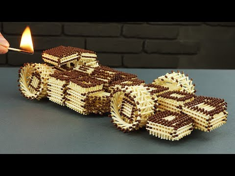 How to Make an Awesome F1 Racing Car Out of Matchsticks Without Using Any
