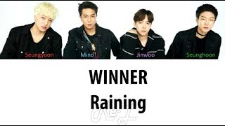 WINNER - Raining (Japanese Ver.) (Color Coded Lyrics ENGLISH/ROM/KAN)