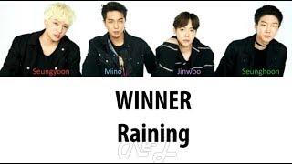 WINNER - Raining (Japanese Ver.) (Color Coded Lyrics ENGLISH/ROM/KAN)