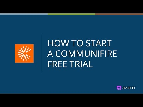 How to Start a Communifire Free Trial