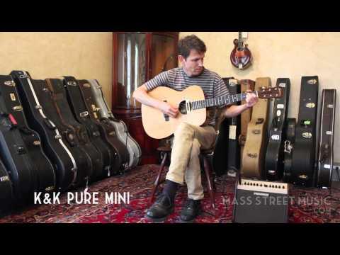 Acoustic Pickup Comparison Part 2 - K&K Pure Mini, Fishman Infinity, LR Baggs M80