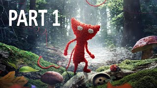 Unravel Gameplay Walkthrough Part 1 - Thistle and Weeds (Xbox One/PS4), EA Games, video games
