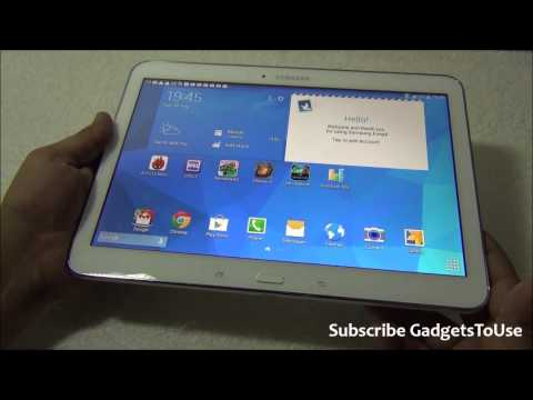 Samsung Galaxy Tab 4 10.1 Inch Unboxing, Full Review, Benchmarks, Camera, Software and Overview HD