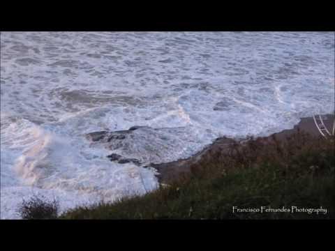 Tempestade Dóris, Praia da Areia Branca, Lourinhã