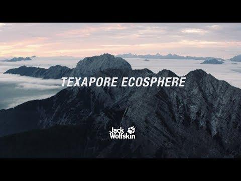 TEXAPORE ECOSPHERE: Der erste 100 % recycelte* Wetterschutz - Teaser