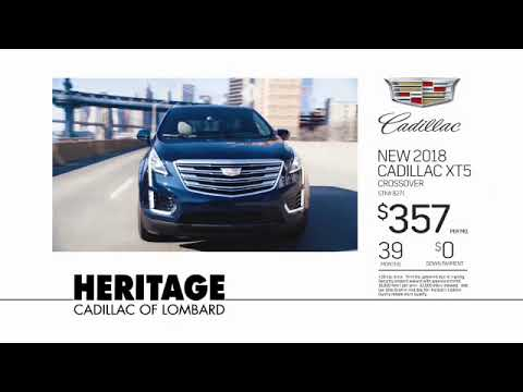 Heritage CadillacJuly XT5 Lease: 2018 XT5 with $0 Down Payment