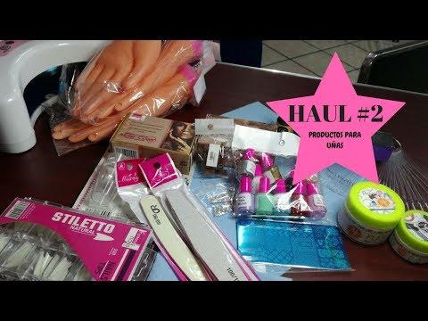 Decorados de uñas - HAUL #2!!!! Compritas de productos para uñas  ROSE GOLD, FANTASY NAILS  Y MAS /Claudia Luna