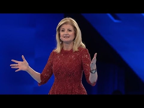 Dreamforce - Arianna Huffington talks about what it means to truly thrive as human beings.