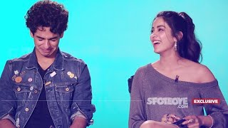 Video Ouch, Janhvi Kapoor Sat On A Pointed Pencil! Ishaan Khatter Kissed When 14! | Dhadak | SpotboyE MP3, 3GP, MP4, WEBM, AVI, FLV Januari 2019