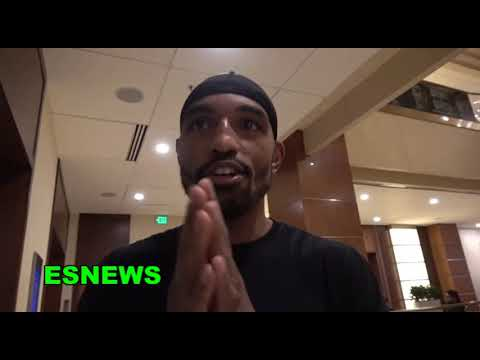 Jleon Love Was There When Floyd Mayweather Sparred Errol Spence EsNews Boxing