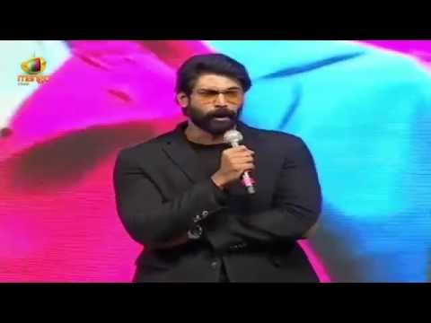 Rana Daggubati & Sai Kumar Back To Back Dialogues | Rough Audio Launch | Aadi | Rakul Preet
