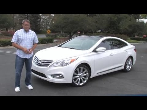 2014 Hyundai Azera Road Test and Video Review