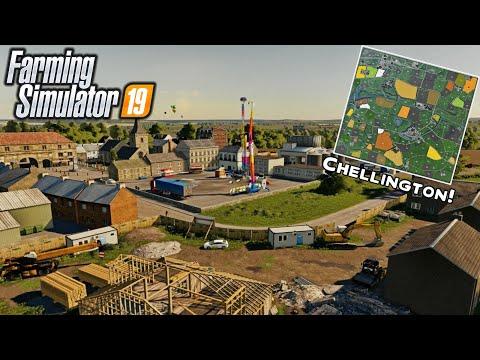 "New Mods! Chellington Valley, ""Ford"" Cargo Series, JD 466! (25 Mods) | Farming Simulator 19"
