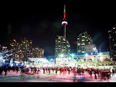 Каток Natrel Rink в Торонто. Февраль 2015.