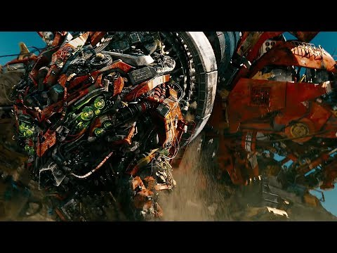 Transformers 2 IMAX version 16x9 Devastator Whole Scene reel HD 1080p