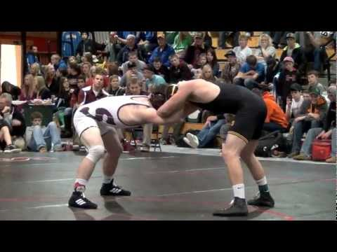 Nate Rotert (Spearfish/Lead-Deadwood) vs Eugene Martin (Kingsbury Co.) 195 lb Champ. MDM2013