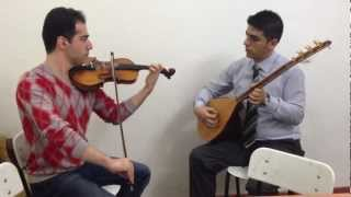ویولن ایرانی( Iranian&Turkish Improvisational Music (Violin, Violon,Baghlaman)