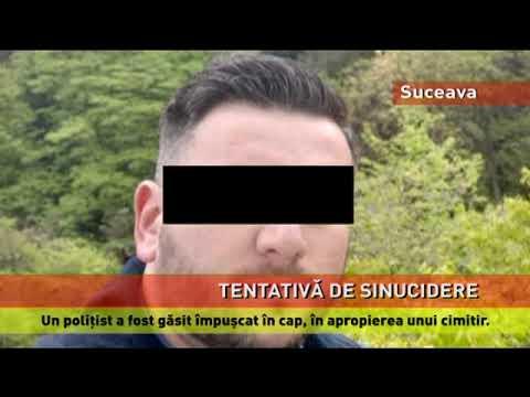 Un polițist din Suceava s-a împușcat în cap