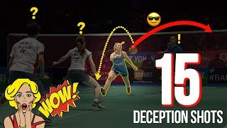 Video Flabbergastic Badminton Deceptions Shots 2018 | Surprsing Deception Shots | God of Sports MP3, 3GP, MP4, WEBM, AVI, FLV Maret 2019