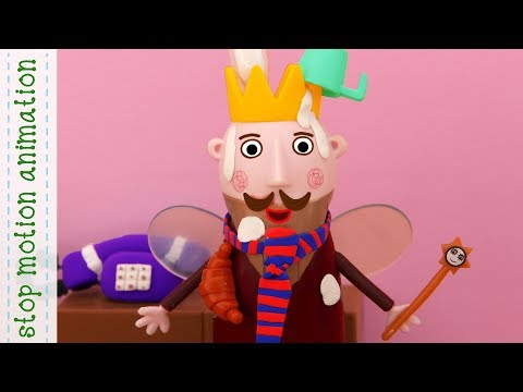 the king's tie. Ben and holly's little kingdom stop motion animation