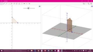 Construction d\'un prisme avec Geogebra 3D