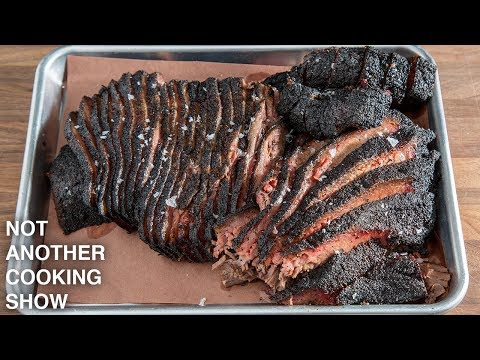 how to make a TEXAS STYLE SMOKED BEEF BRISKET