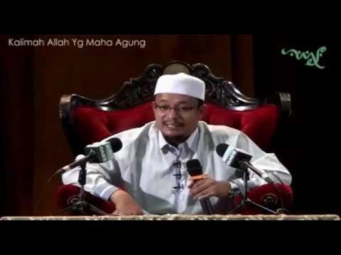 Ustaz Kazim Elias – Kalimah Allah Yg Maha Agung