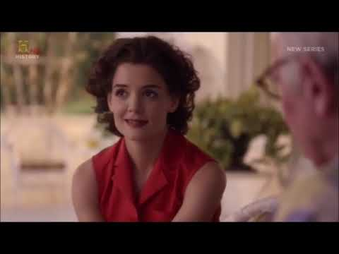 "Katie Holmes best scenes as Jackie Kennedy - ""The Kennedys"""