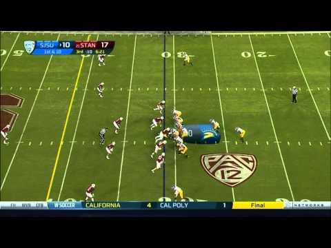 David Fales vs Stanford 2012 video.