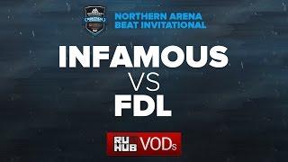 Infamous vs FDL, game 1